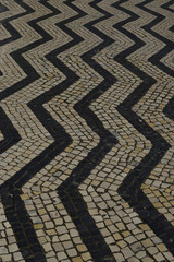 Paving stones in Portugal