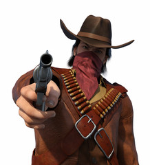 Old West Outlaw - Your Money or Your Life