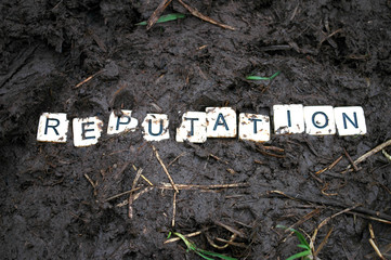 Reputation trampled in the mud.