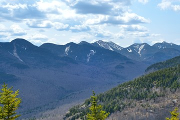 Randonnée pédestre en montagne (Adirondack)