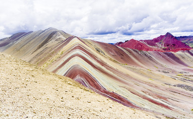 The Rainbow mountains of Peru