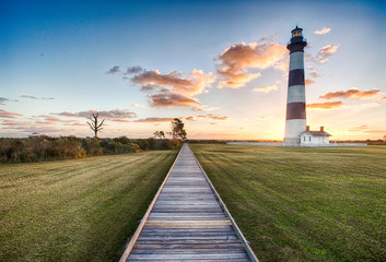 Bodie Lighthouse Sunrise Wall mural