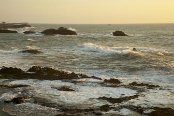 Meeresrauschen an der Atlantikküste