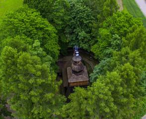 cerkiew dron