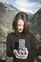 Photographier la photographe