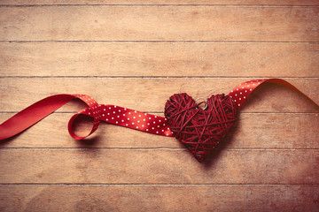 toy and ribbon