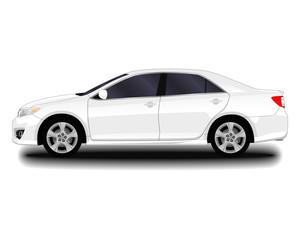 realistic car. sedan.