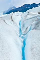 Gletscherspalte auf dem Perito Moreno in Patagonien