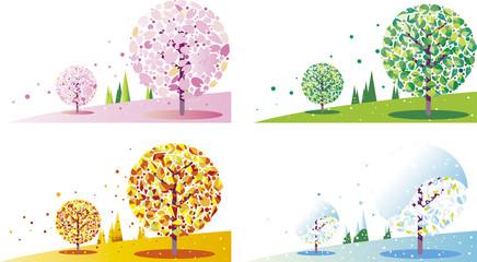 季節の樹木