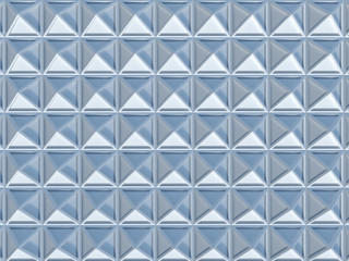 Square pattern 3D rendering