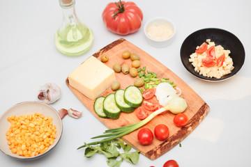 Preparing healthy snacks