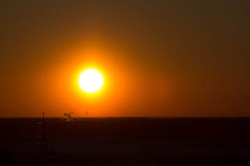 Закат на Можайской горе