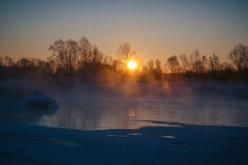 Утренний рассвет