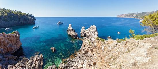 Panorama Photo of the open sea