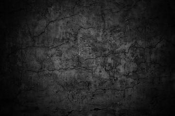 grim wall texture, dark background black cement