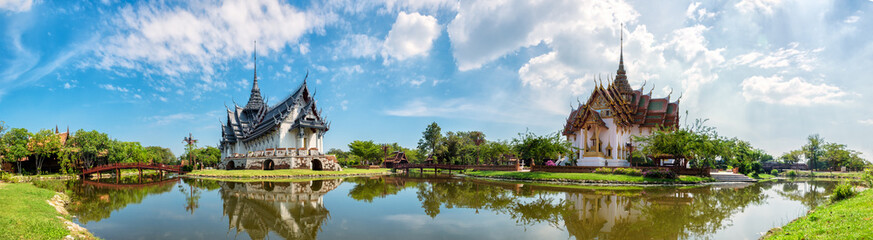 Photo sur Plexiglas Bangkok Sanphet Prasat Palace, Ancient City, Bangkok, Thailand