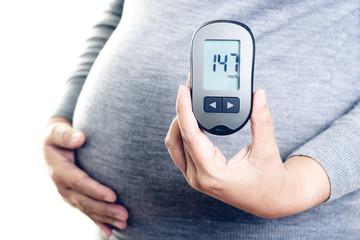 Diabetic pregnant woman