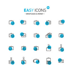 Easy icons 05d Briefcases