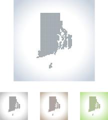 map of Rhode Island