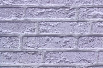 Blue retro bricks texture