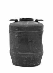 plastic black barrel