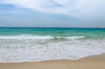 turquoise sea beach
