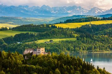 Pieniny-zamek Czorsztyn
