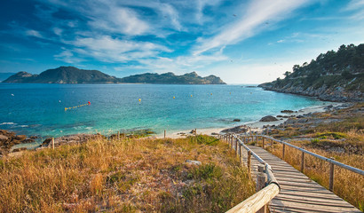 Islas cies beach, Spain