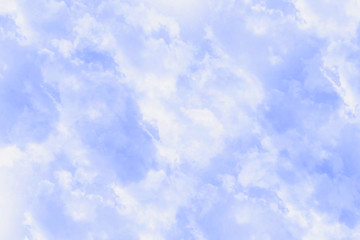 the blue traces background of clouds