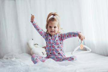 Child in pajama