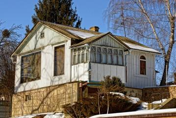 Старый загородный дом