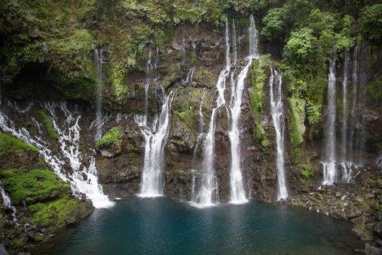 Wasserfall Cascade Grand Galet auf der Insel La Réunion
