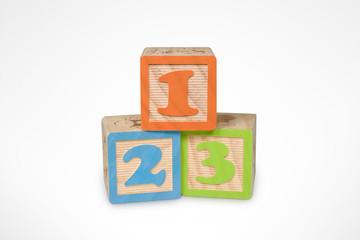 Numbers Learning Blocks