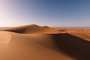 Sahara Erg Chebbi dunes, Merzouga, Morocco