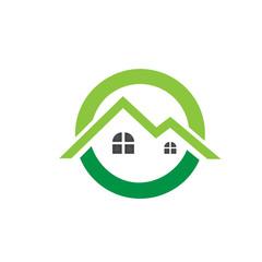 Logo Green House Concept 8
