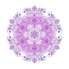 Mandala banner, Indian style. Bohemian Cards Unique cards for printing supplies