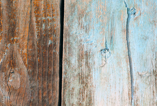 Old wooden fence Retro background and texture Template for design