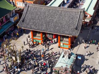 Japan Sensoji temple