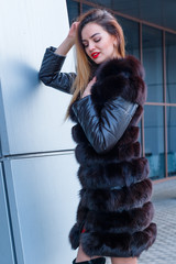 cold, photo, model, expensive, park, russian, glamour