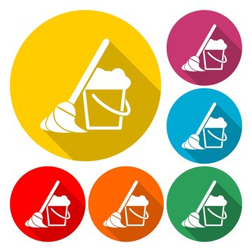 Cleaning Icon Set - Illustration