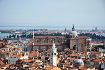 Venezia panorama veduta aerea