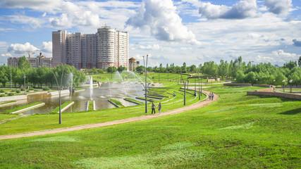 President Park in Astana, Kazakhstan
