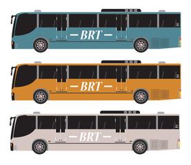 Set of Bus Rapid Transit or BRT