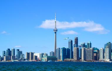 Tuinposter Toronto Downtown Toronto skyline