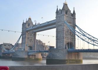 Postcard to Tower Bridge, close-up