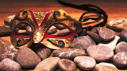 Karneval Fasching mit Maske