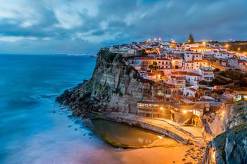 Small seascape village