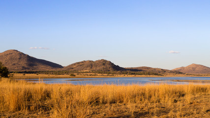 Panorama from Pilanesberg National Park, South Africa