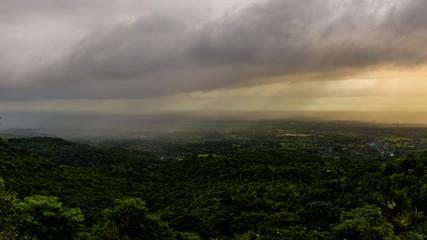 Rain over Candelaria