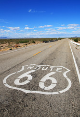 route 66 roadway